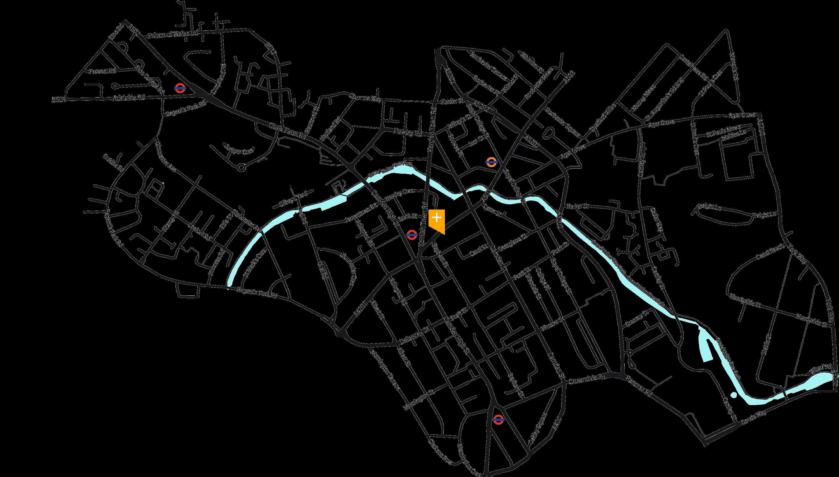Saint map