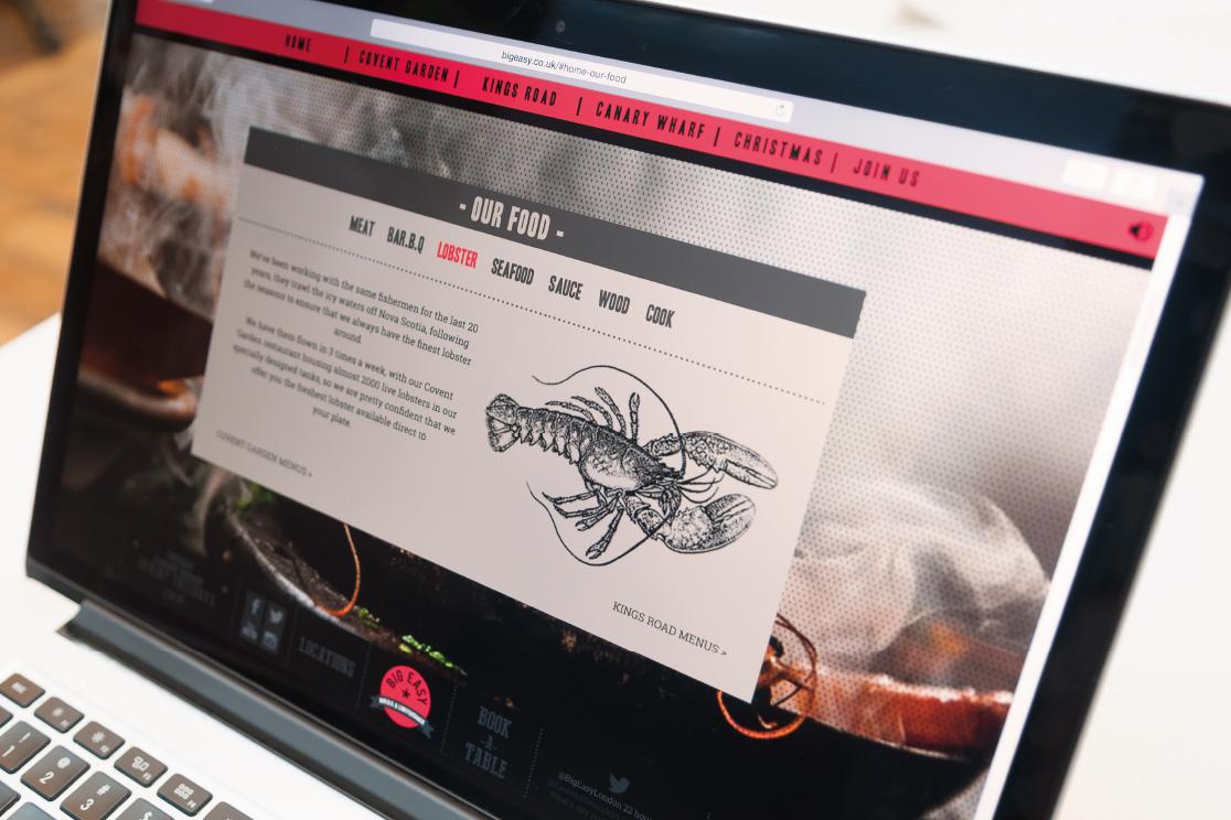 Responsive website by Saint Design