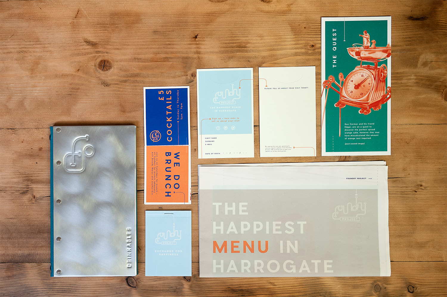 Brand design for Foundry Project by Saint Design