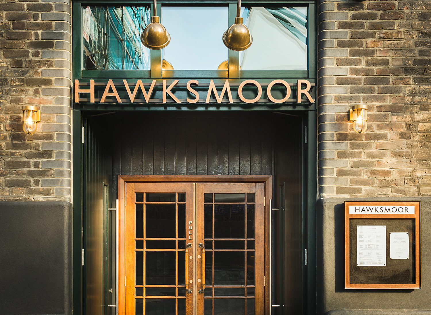 The front doors of Hawksmoor, Borough