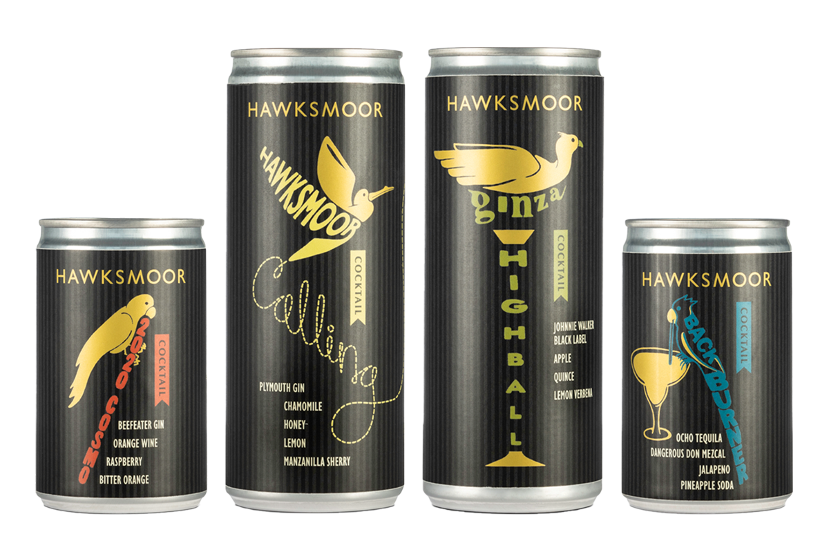 Packaging Design for Hawksmoor at Home by SAINT Design